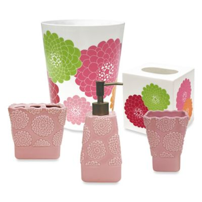 Allure Stella Pink Waste Basket