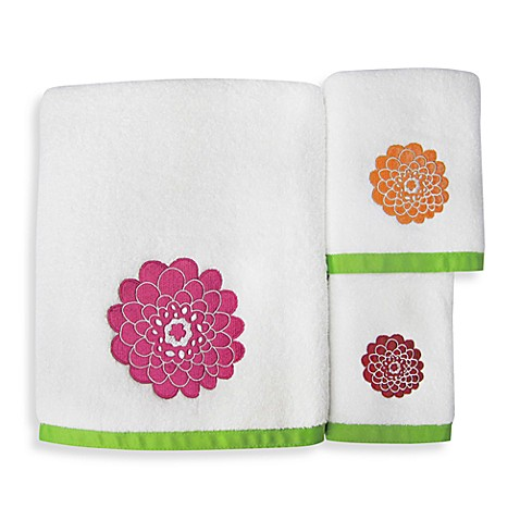 Stella Pink Bath Towel Collection