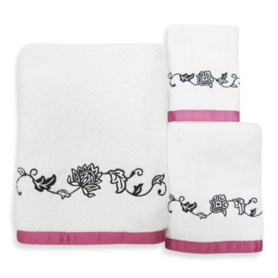 Black Wash Cloth Towel