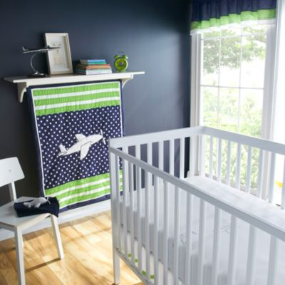 Victoria Classics Big Believers Up & Away 5-Piece Crib Bedding Set
