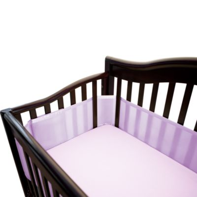 BreathableBaby® Breathable Mesh Crib Liner in Orchard Bloom