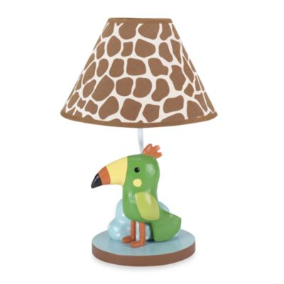 Lambs & Ivy® Peek-a-Boo Jungle Lamp
