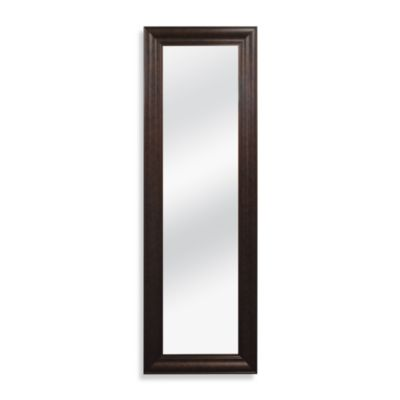 No-Tools Over-the-Door Mirror in Bronze