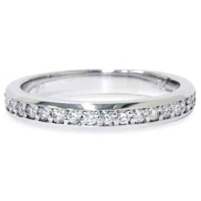 14K White Gold .35 cttw Diamond Anniversary Ring