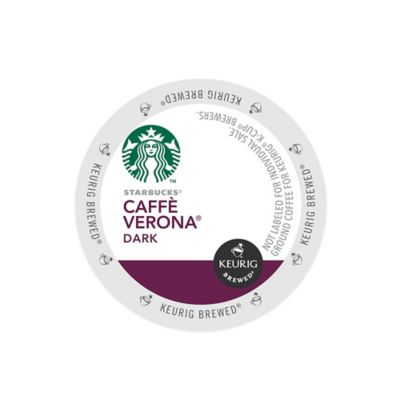 K-Cup® 16-Count Starbucks® Caffe Verona® Dark Coffee for Keurig® Brewers