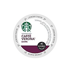Keurig® K-Cup® Pack 16-Count Starbucks® Caffe Verona® Dark Coffee