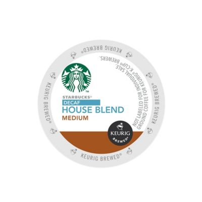 K-Cup® 16-Count Starbucks® House Blend Decaf for Keurig® Brewers