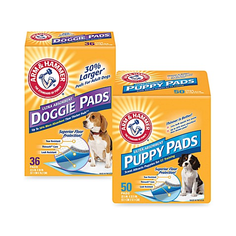 Arm & Hammer® Ultra Absorbent Dog Pads