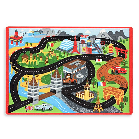 Disney Pixar's The World of Cars Game Rug