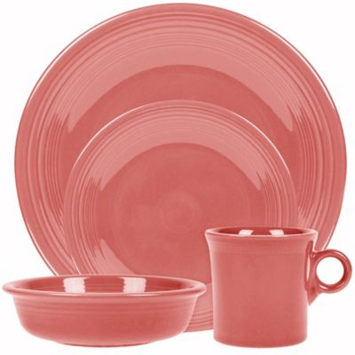 Fiesta® 4-Piece Set in Flamingo