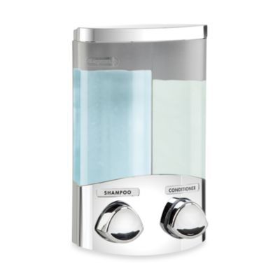 Euro DUO Soap and Shampoo Dispenser -Chrome