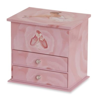Kids Ballerina Jewelry Box