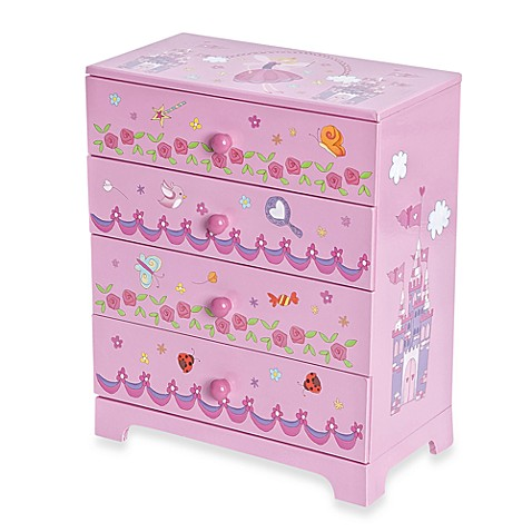 Mele & Co. Annette Girl's Fairy Princess Jewelry Box