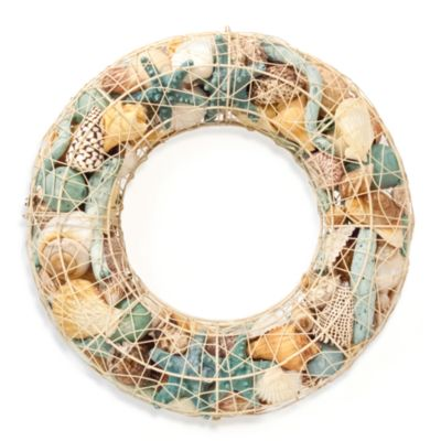 Ocean-Fragranced Potpourri in Decorative Wire Wreath