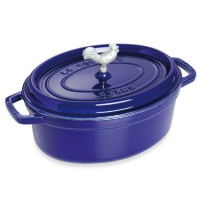 Staub 5.75-Quart Coq au Vin Cocotte - Dark Blue