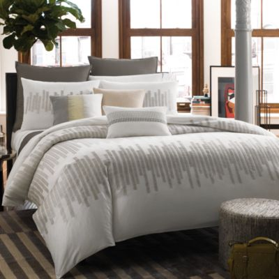 Kenneth Cole Patterned Duvet Covers