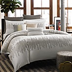 Kenneth Cole Reaction Home Frost Duvet Cover, 100% Cotton, 300 Thread Count