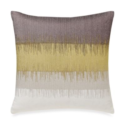 Kenneth Cole Reaction® Home Frost Embroidered Square Toss Pillow