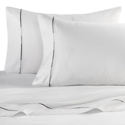 Kenneth Cole Reaction® Home Baratta Stitch Pillowcases (Set of 2)