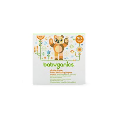BabyGanics® 20-Count Hand Sanitizer Wipes