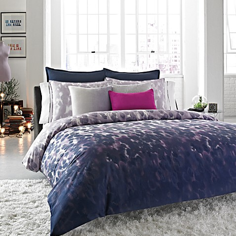 Kenneth Cole Reaction® Home Rain Duvet Cover, 100% Cotton