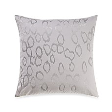 Kenneth Cole Reaction Home 18-Inch Rain Embroidered Square Toss Pillow