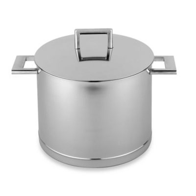 Demeyere John Pawson Stockpot with Lid - 5.3-Quart