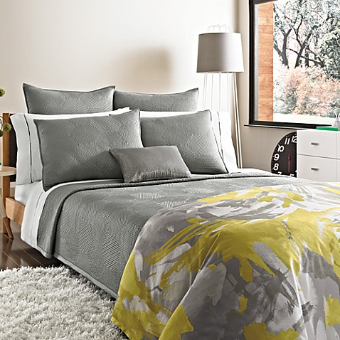 Kenneth Cole Reaction Home Swirl King Coverlet Sham
