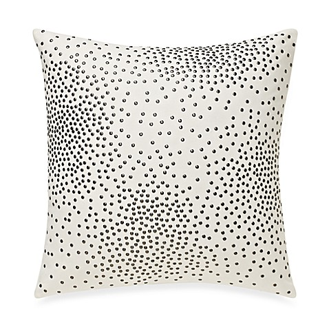 Kenneth Cole Reaction Home Swirl Studded Square Toss Pillow