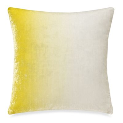 Kenneth Cole Reaction® Home Swirl Velvet Square Toss Pillow