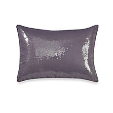 Kenneth Cole Reaction Home Swirl Sequin Oblong Toss Pillow