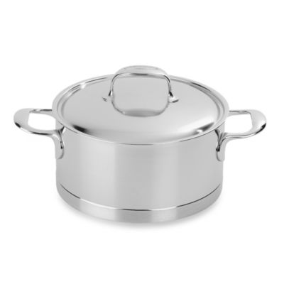 Demeyere 4.2-Quart Atlantis Dutch Oven with Lid