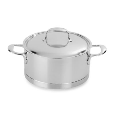 Demeyere 5.5-Quart Atlantis Dutch Oven with Lid