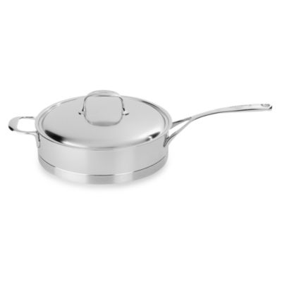 Demeyere Atlantis Stainless Steel 4.2-Quart Saute Pan with Lid