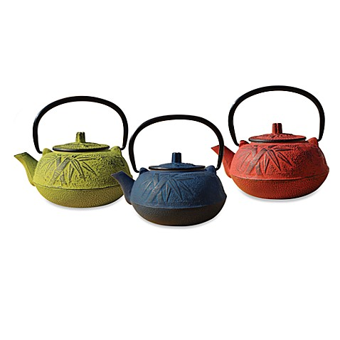 Tetsubin osaka 20 ounce cast iron teapots with infuser - Japanese teapot with infuser ...