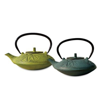 "Tetsubin ""Sakura"" 37-Ounce Cast Iron Tea Pots with Infuser"