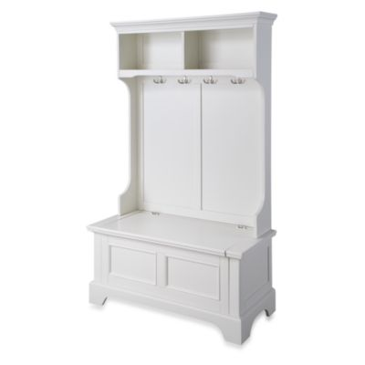 Home Styles Naples Halll Tree and Storage Bench