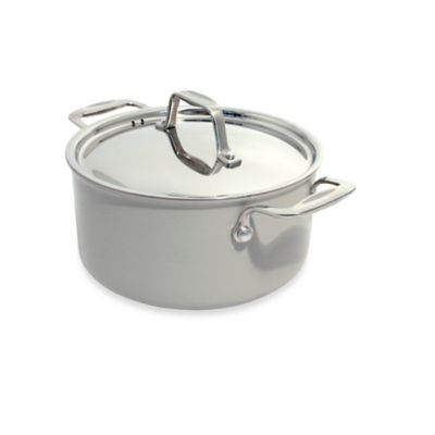 BEKA Chef Eco-Logic 100% Ceramic 8-Inch Nonstick Covered Casserole in Cream