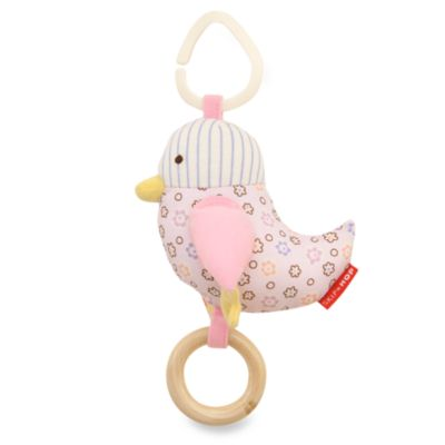 SKIP*HOP® Owl Patch Stroller Toy in Pink Bird