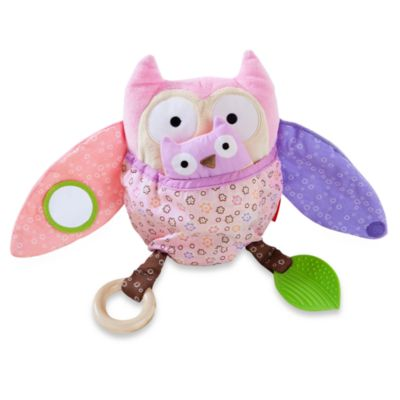 SKIP*HOP® Owl Patch Hug & Hide Activity Toy