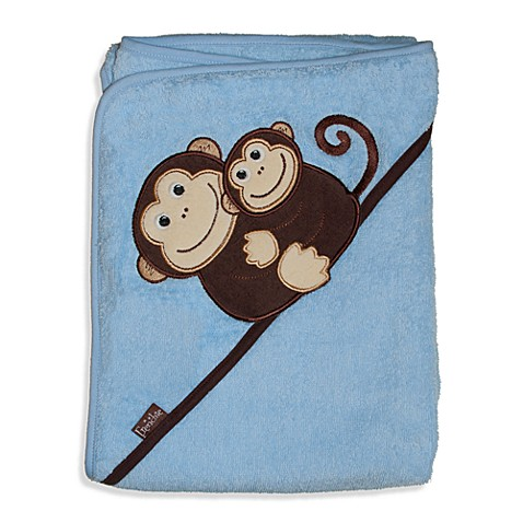 Frenchie Mini Couture Extra-Large Monkey Hooded Towel