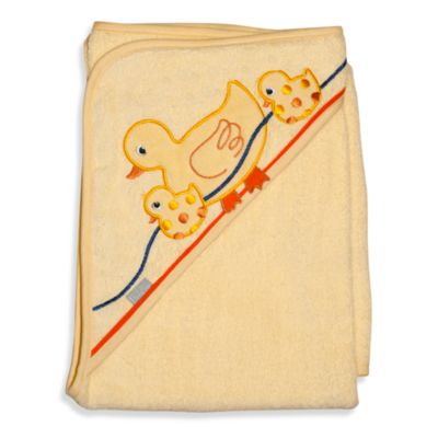 Duck Hooded Bath Towel