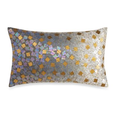 Kenneth Cole Reaction® Home Mason Ombre Sequin Oblong Toss Pillow