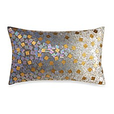 Kenneth Cole Reaction Home Mason Ombre Sequin Oblong Toss Pillow
