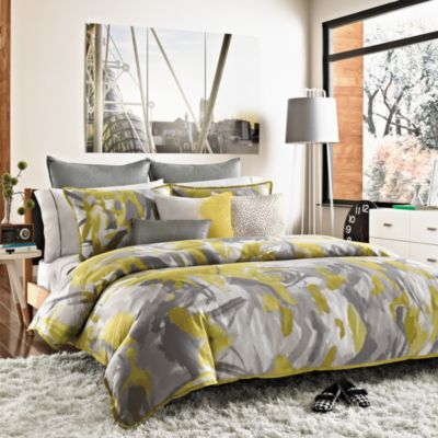 Kenneth Cole Reaction Home Swirl Full/Queen Duvet Cover