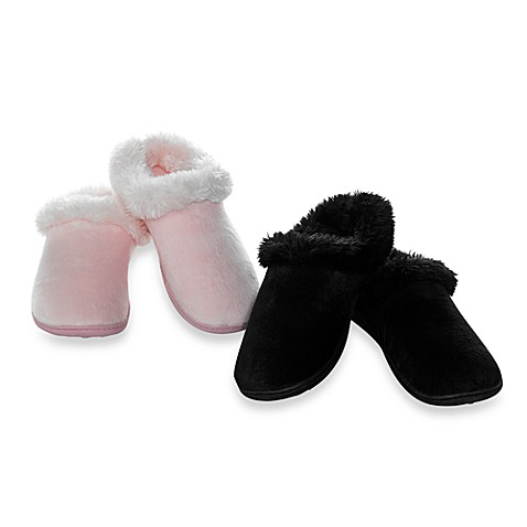 Elizabeth Arden Luxurious Micromink Women's Slippers - Pink (Large)