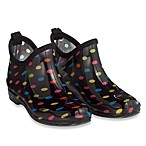 Capelli® Women's Shiny Multi Dots Rain Booties
