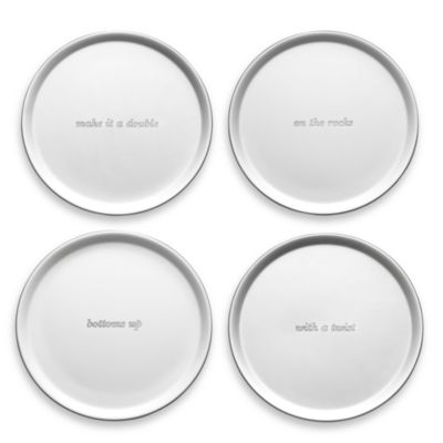 kate spade new york Silver Street Coaster (Set of 4)