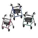 Drive Medical Four-Wheeled Rollator w/6