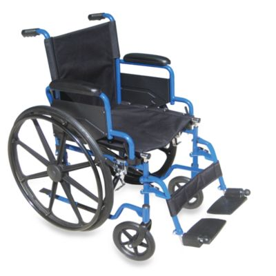 Drive Medical Blue Streak 18-Inch Manual Wheelchair